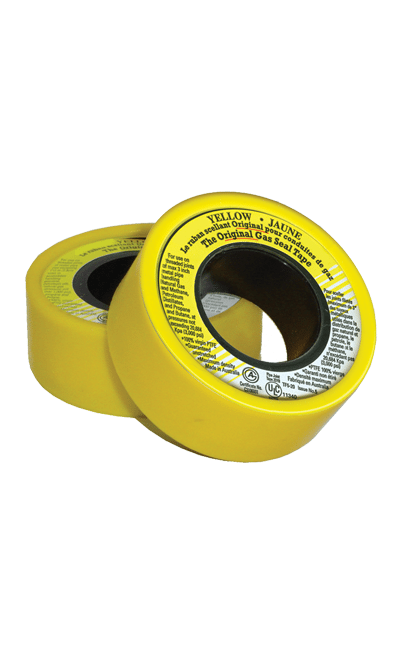 how to use teflon tape on gas fittings