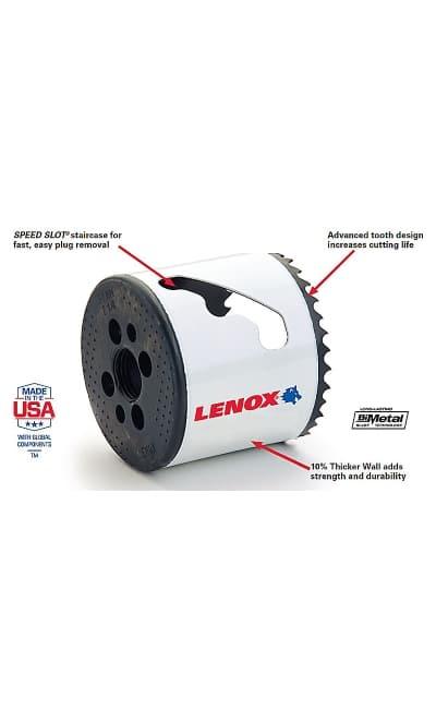 Lenox Bi Metal Speed Slot Hole Saw With T3 Technology
