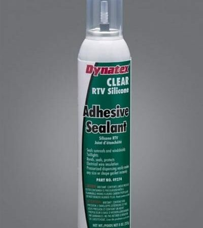 DYN 49274 – Clear RTV Silicone Adhesive Sealant – Photo
